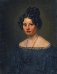 anna motherbig by carl christian vogel von vogelstein