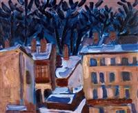 domy s modrými stromy by richard fremund
