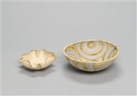 an oval bowl by mary ann rogers