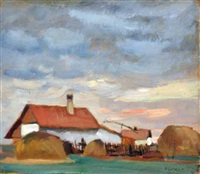 farm by adolf fényes