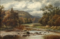 on the wynion, dolgelley by william henry mander