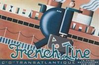 french line, compagnie générale transatlantique by terry allen
