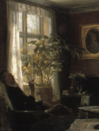 by the window by achenbach