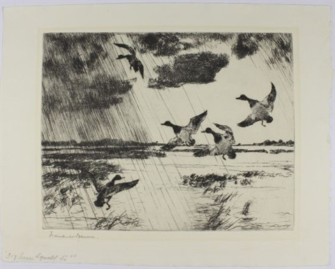 pintails 4 others 5 works various dates sizes and editions by frank weston benson