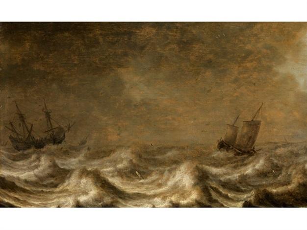 marinebild by pieter mulier the elder