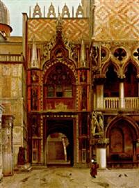 la porta della carta nella ducale venezia by john wharlton bunney