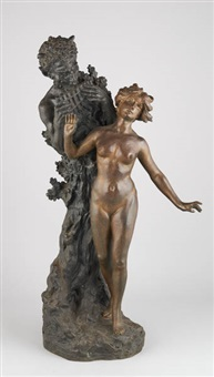 faune et muse by henryk kossowski the younger
