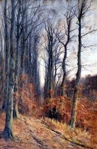 sous-bois en automne by françois joseph