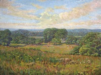 summer meadows by john franklin stacey