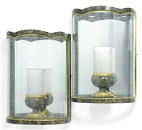 wall lanterns (pair) by colefax & fowler