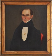 portrait of a gentleman by erastus salisbury field