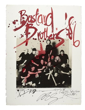 bastard brothers sport aid by david bailey and ralph steadman