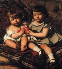 les enfants janssens ou les enfants au polichinelle by edouard agneessens