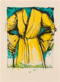 yellow robe by jim dine