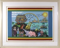 noah's ark by jack hofflander