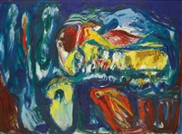 gipfelruhe (top peace) by asger jorn
