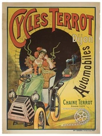 cycles terrot by posters: sports - cycling