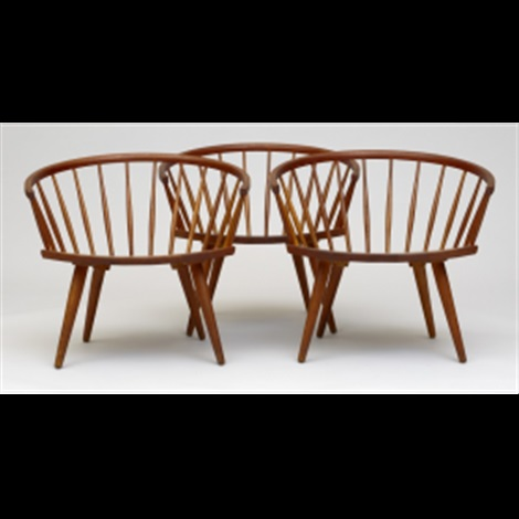 arka chairs set of 3 by yngve ekstrom