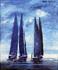 les bateaux à voile by alain fournier