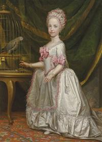 Portrait of the Archduchess Maria Theresa von...