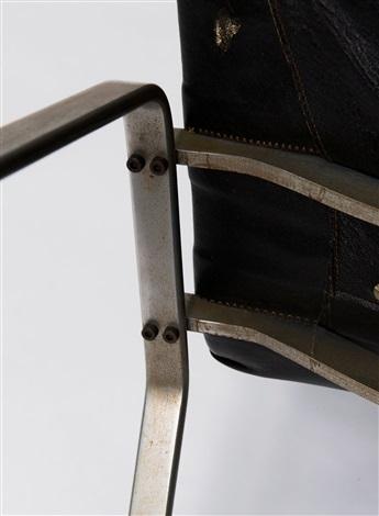 zwei sessel pk 22 by poul kjaerholm on artnet. Black Bedroom Furniture Sets. Home Design Ideas