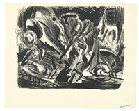 junkyard abstraction by jackson pollock