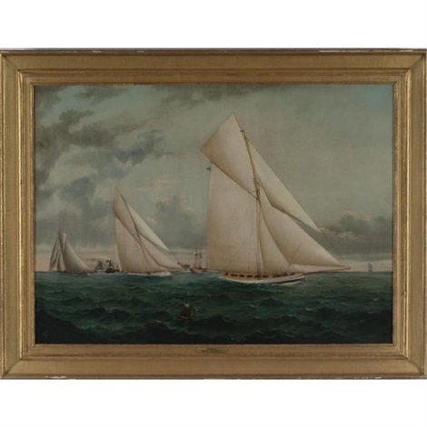 the atlantic cup race by william gay yorke