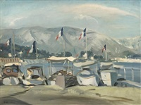 le port de cannes by dimitri bouchene