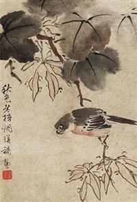 秋色老梧桐棲 by lan ying
