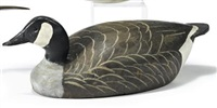 balsa canada goose decoy by ward brothers