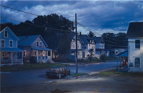 untitled, summer (clover street) (from beneath the roses series), 2003 by gregory crewdson