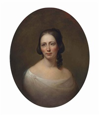 portrait of amelia priestman by rembrandt peale