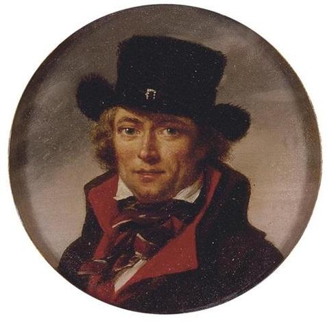 portrait of a man (self portrait?) by jean baptiste joseph wicar