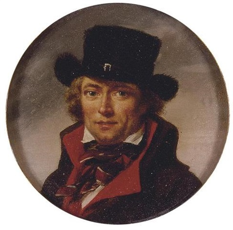 portrait of a man self portrait by jean baptiste joseph wicar