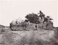 haute égypte. tombeau de cidi-abdallah-el-marabout à erment, pl.62 by maxime du camp