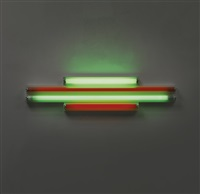 red and green alternatives (to sonja) 2 by dan flavin