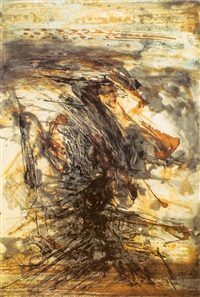 etching with aquatint by zao wou-ki