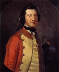 portrait of lieutenant colonel george scott by john wollaston