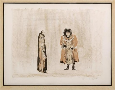 reb meyer and sender de la serie the dybbuk by leonora carrington