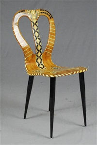 piero fornasetti auction results piero fornasetti on artnet On chaise musicale