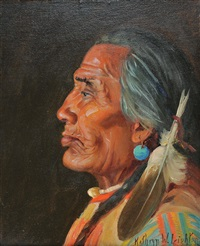 plains indian by kathryn woodman leighton