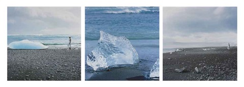 true north series triptych by isaac julien