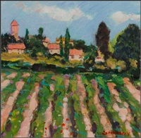 little vineyard, provence by connie simmers