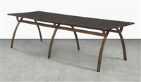 dining table by renou and genisset