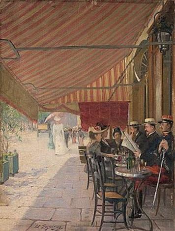 Terrasse De Café By Delphin Enjolras On Artnet