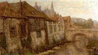 a view of den bosch by frans slager