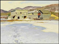 near christieville, quebec by george franklin arbuckle