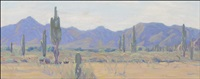 desert landscape by ernest leonard blumenschein