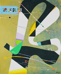 abstract composition by sergey kasabian