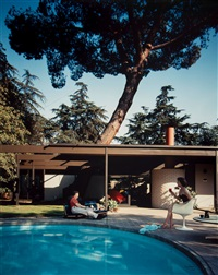 c. buff / c. straub / d. hensman, case study house #20, altadena, california by julius shulman